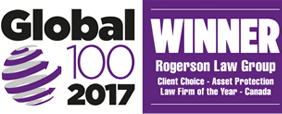 Global 100 Winner – Asset Protection Law Firm of the Year – Canada