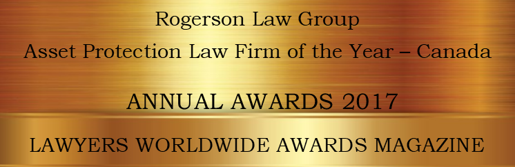 Rogerson Law Group-Asset-Annual Award 2017