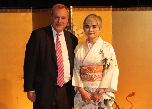 Andrew Rogerson With Japan Consul General
