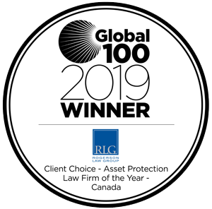 Global 100 - 2019 award Rogerson Law Group